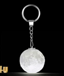מחזיק מפחתחות ירח תלת מימד מתנות-4