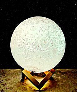 מתנה מנורת ירח תלת מימד