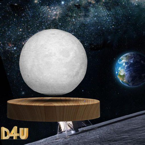 מתנות וגאדג'טים מנורת ירח תלת מימד מרחף-3