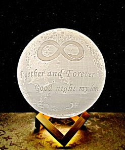 מתנה מנורת ירח תלת מימד לאישה ולגבר 3